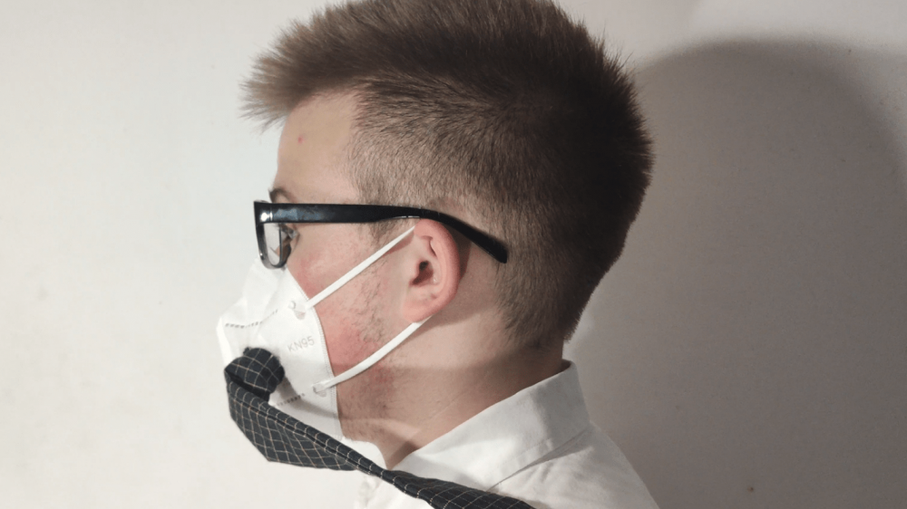 VENTILATED PROTECTIVE MASK