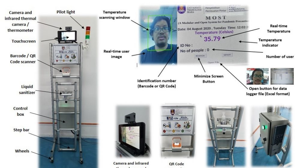 Modular and Open System – Lite (MOST-LITE) For Pandemic Precaution