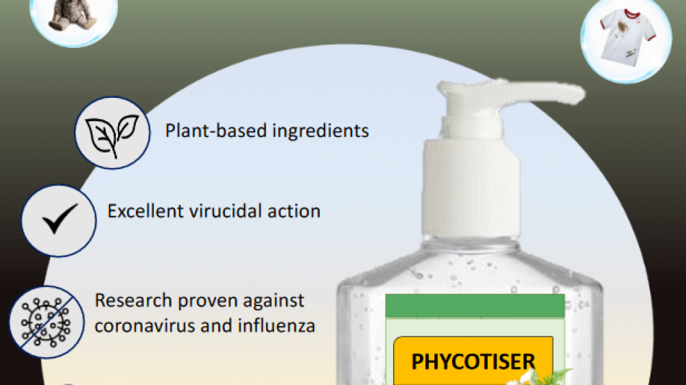 Phycotiser, Natural Hand sanitiser uniquely made in Sabah